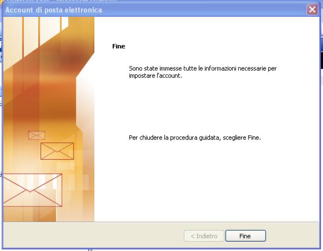 come configurare la posta elettronica pec su outlook 2003