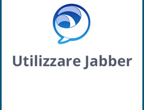 Utilizzare Jabber