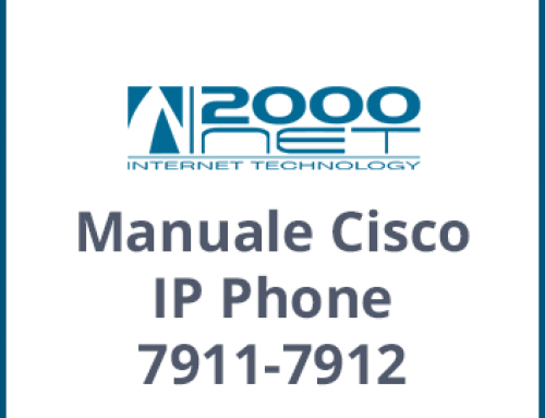 Manuale Telefono Cisco IP Phone 7911-7912