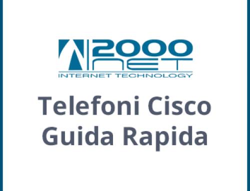 Manuali Telefoni Cisco IP Phone Guida Rapida